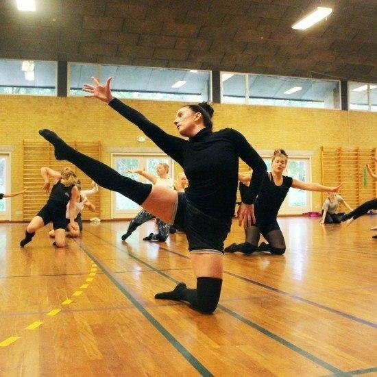 Rytmisk gymnastik i Annexhallen