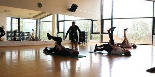 Træning med Marina Aagaard