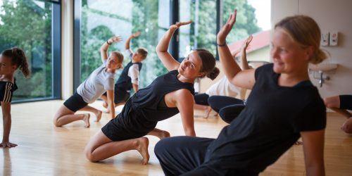 Dans på Idrætshøjskolen Viborg