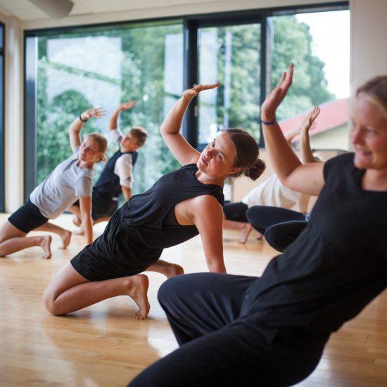 Dans og Powerrytme på Idrætshøjskolen Viborg