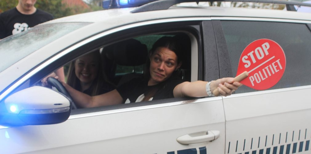 Politilinje på Viborg Idrætshøjskole